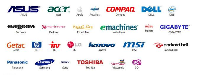 логотипы команий-партнеров
